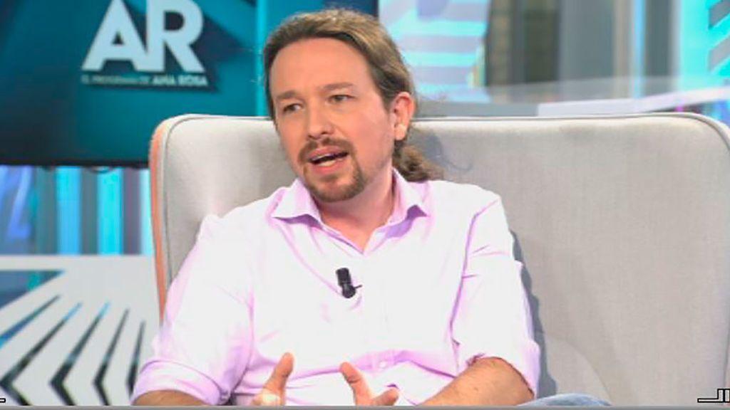 """Pablo Iglesias: """"Hay algunos  muy  interesados en decir que vuelve ETA a Cataluña"""""""