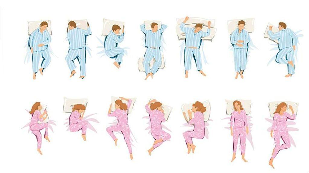 Cómo duermes, cómo eres