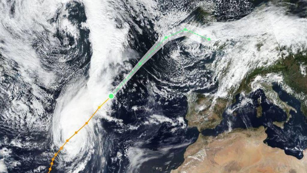El huracán Lorenzo está siendo muy atípico: analizamos si puede asociarse al calentamiento global