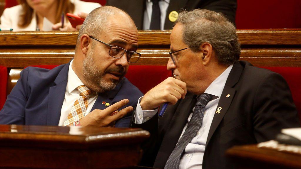 """La Generalitat lamenta, """"como cualquier agresión a cualquier ciudadano"""", el ataque a Laila Jiménez en el 1-O"""