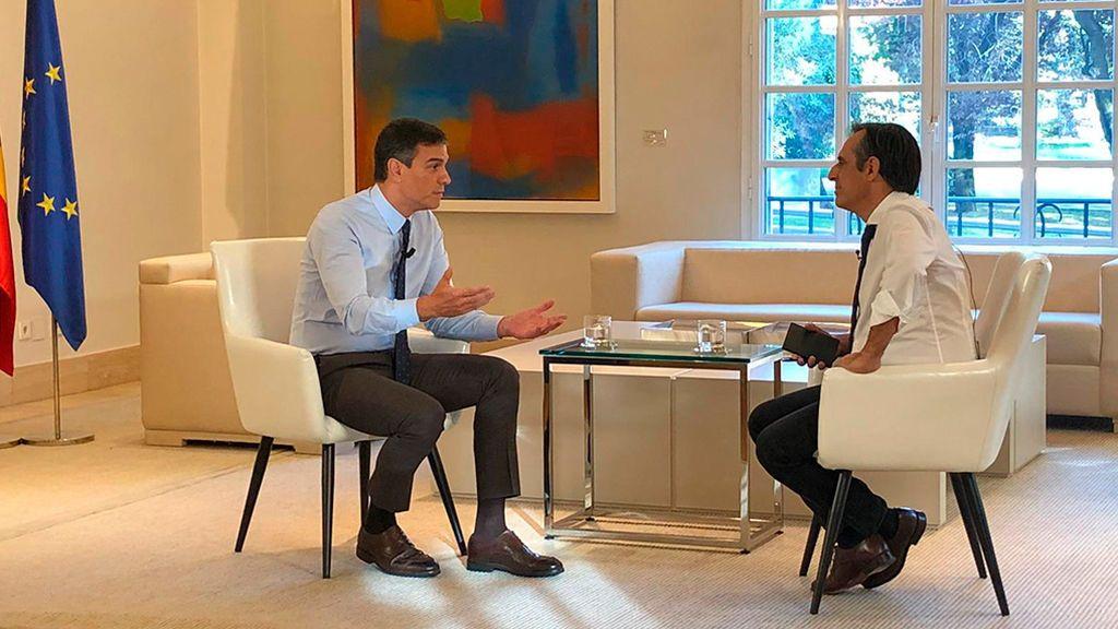 Entrevista a Pedro Sánchez en NIUS 8