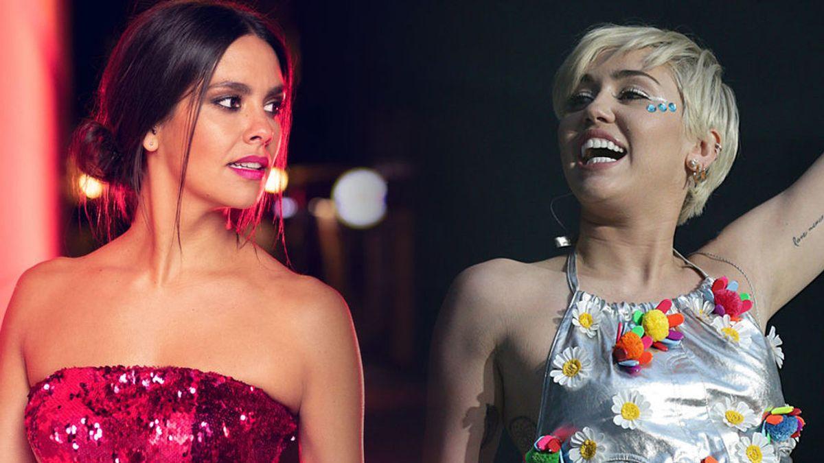 """Cristina Pedroche homenajea a Miley Cyrus con un 'cambio de look': """"Lo amo y la amo a ella"""""""