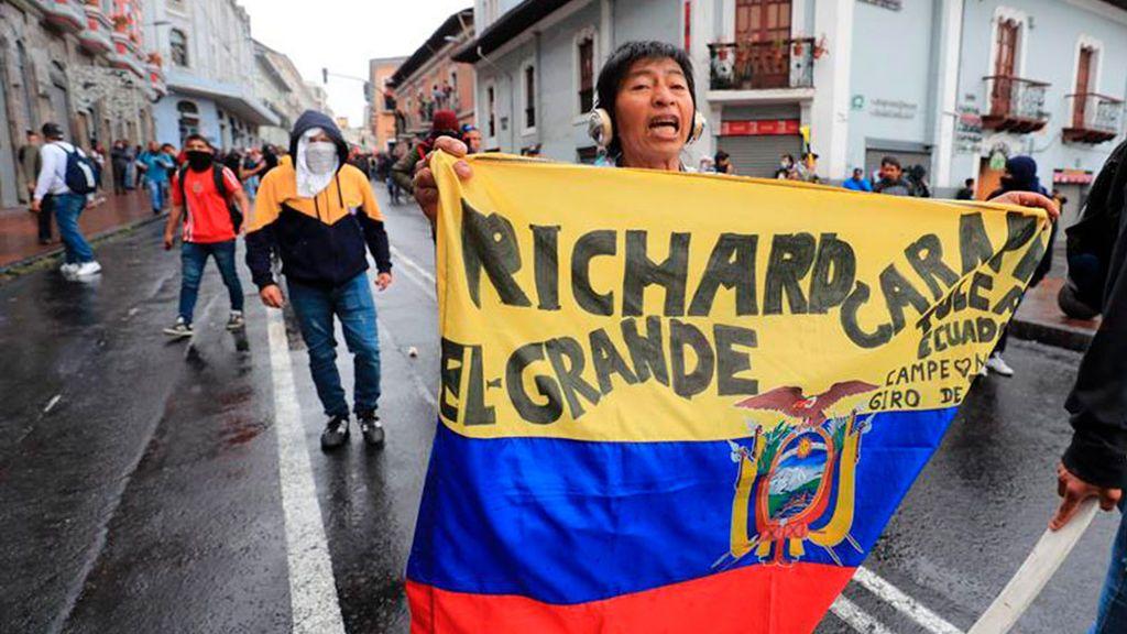 Ecuador, en estado de excepción por las protestas contra las reformas de Lenin Moreno