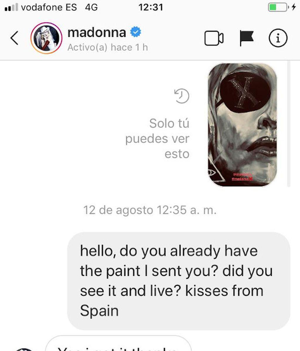 Mensaje Madonna