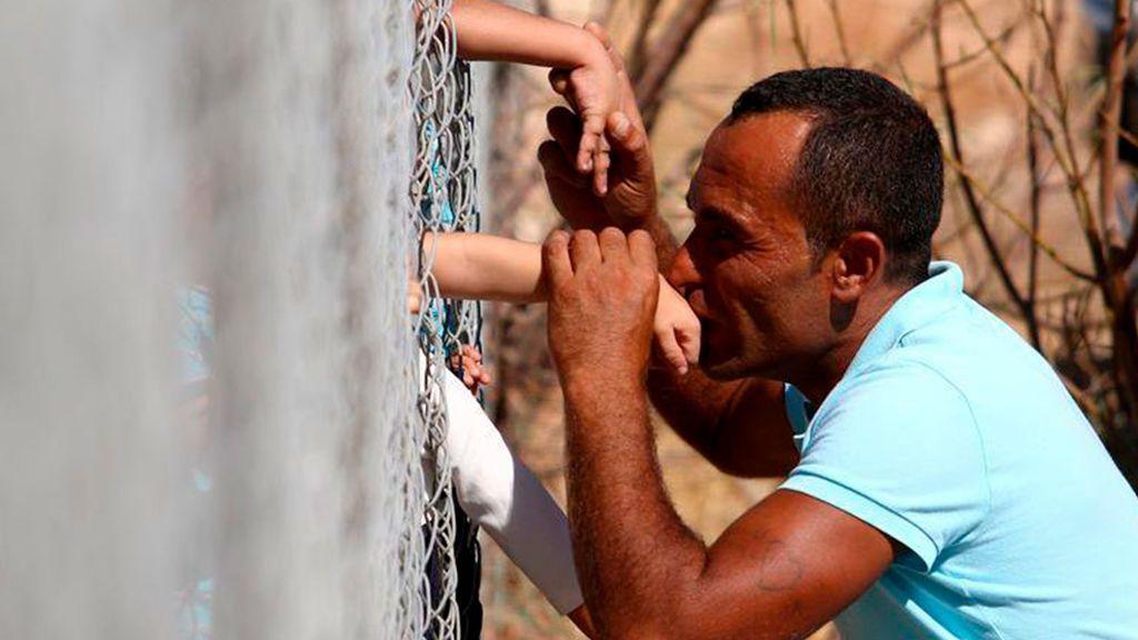 Besos en la frontera