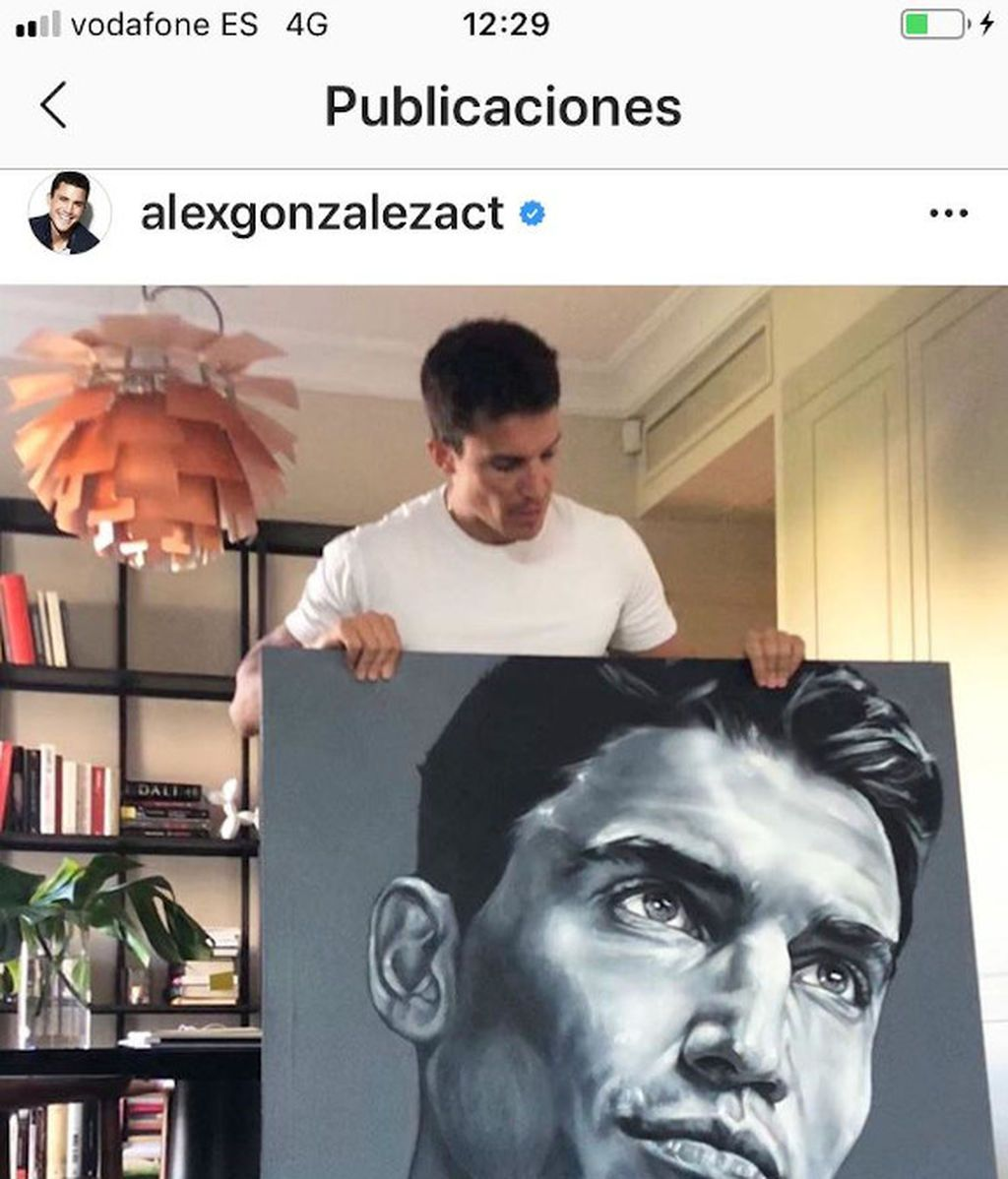 Retrato Alex González