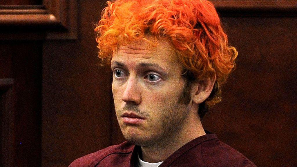 El asesino del tiroteo de Aurora (Colorado, EE.UU.) en 2012