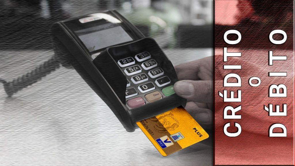 Crédito o débito. ¿Cuál es la diferencia?