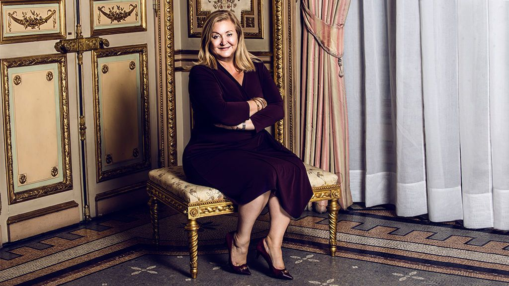 Cynthia Hudson, presidenta de CNN (Foto: Adasat Barroso)
