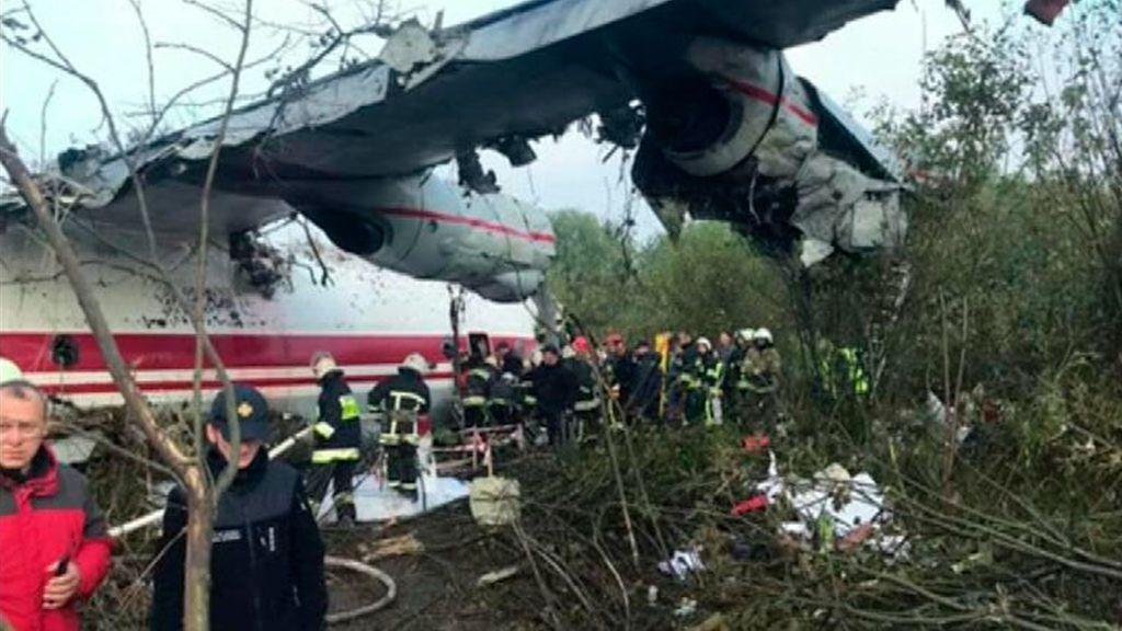 Cinco muertos en Ucrania tras un aterrizaje forzoso de un avión de carga procedente de España
