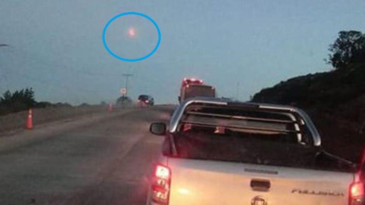 Las misteriosas bolas de fuego que caen del cielo de Chile