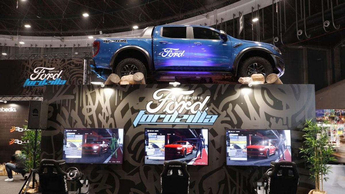 Ford presenta su equipo español de eSports en Madrid Games Week