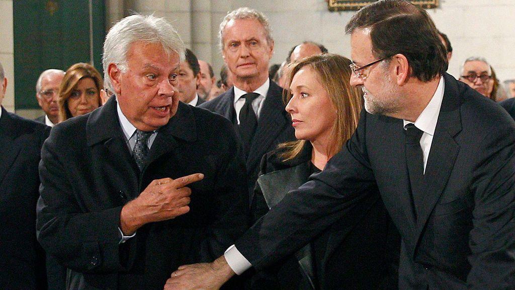 González-Rajoy, mano a mano en La Toja