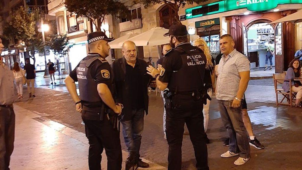 Radicales identificados policía