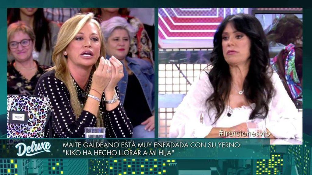 Belén Esteban estalla contra Maite Galdeano