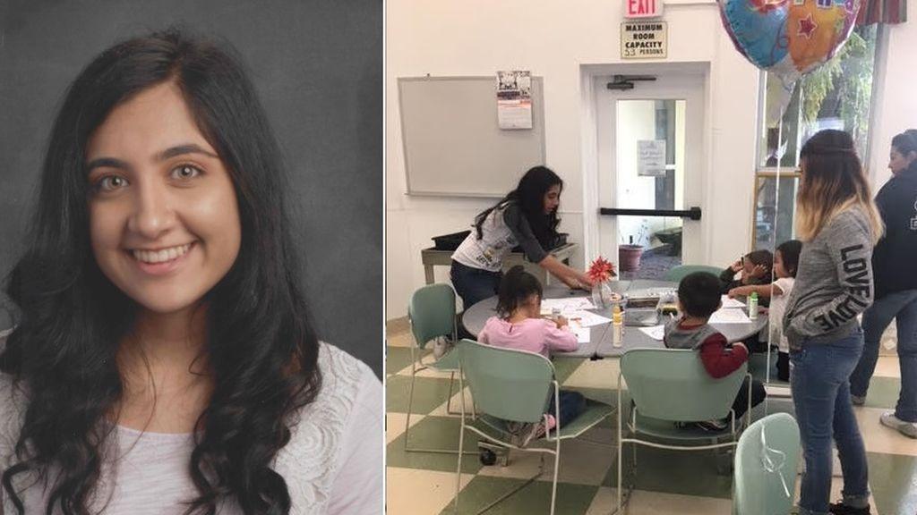 Tanvi Barman, la heroína adolescente de los niños sin hogar: les organiza fiestas para celebrar su cumpleaños