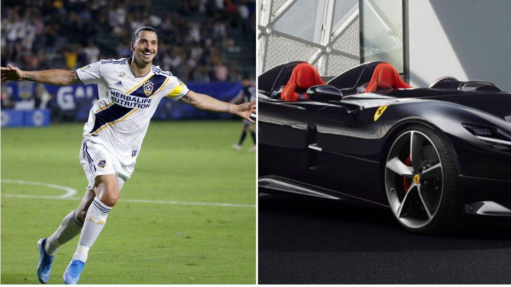 """""""Feliz cumple para Zlatan"""", Ibrahimovic se regala un exclusivo Ferrari de 1,5 millones de euros por su cumpleaños"""