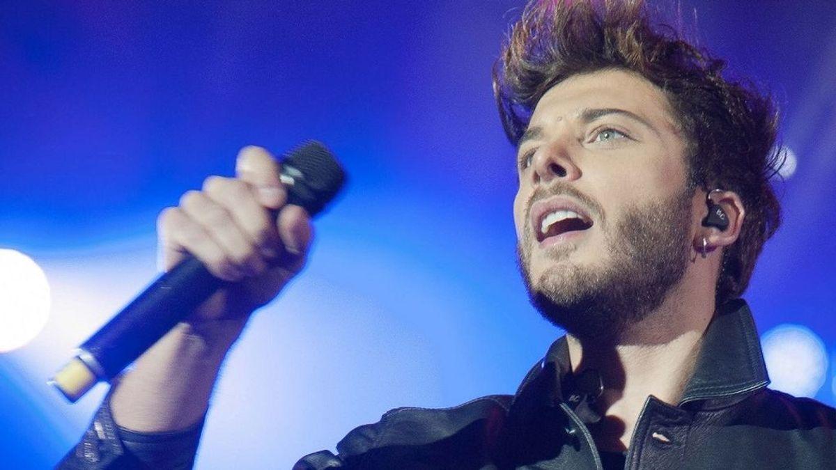 Blas Cantó, representante de España en Eurovisión en un golpe del destino