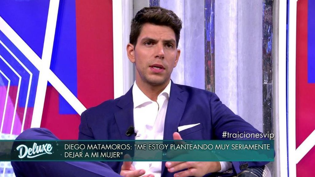Diego Matamoros no va a recibir a Estela Grande