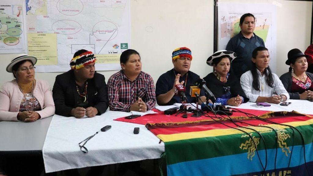 """La mayor organización indígena de Ecuador declara el estado de excepción ante la """"brutalidad"""" de la represión"""
