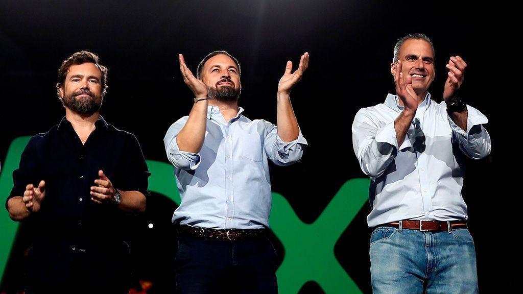 Las mejor imágenes de 'Vistalegre Plus Ultra', el macromitin de Vox en Madrid