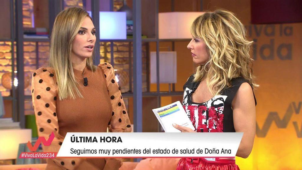 Irene Rosales confirma que Isa P. no ha acudido al hospital a ver a su abuela
