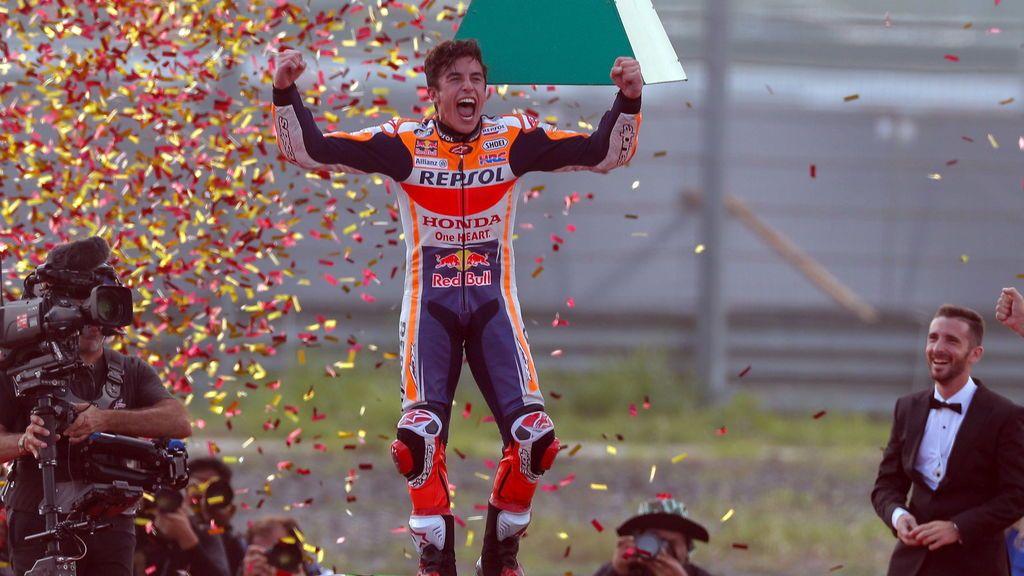Marc Márquez, campeón del mundo de Moto GP por sexta vez