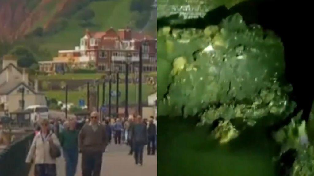 """Hallan un fatberg de 64 metros bajo una pequeña localidad de """"jubilados"""" de Inglaterra"""