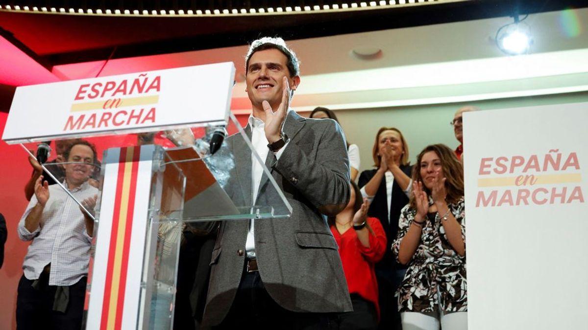 """Rivera: Sánchez """"vuelve a equivocarse de adversarios"""" al rechazar el acuerdo que propone a PP y PSOE"""