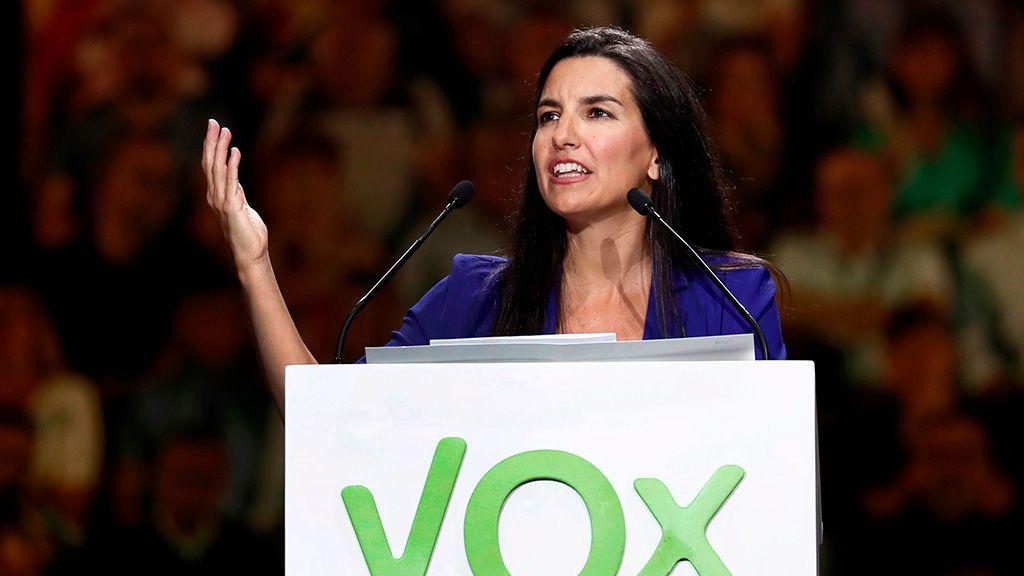 La presidenta del Vox en Madrid, Rocío Monasterio