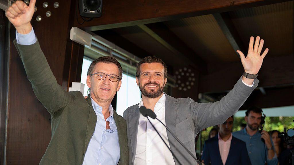 Casado desautoriza a Feijóo y su propuesta de gran coalición