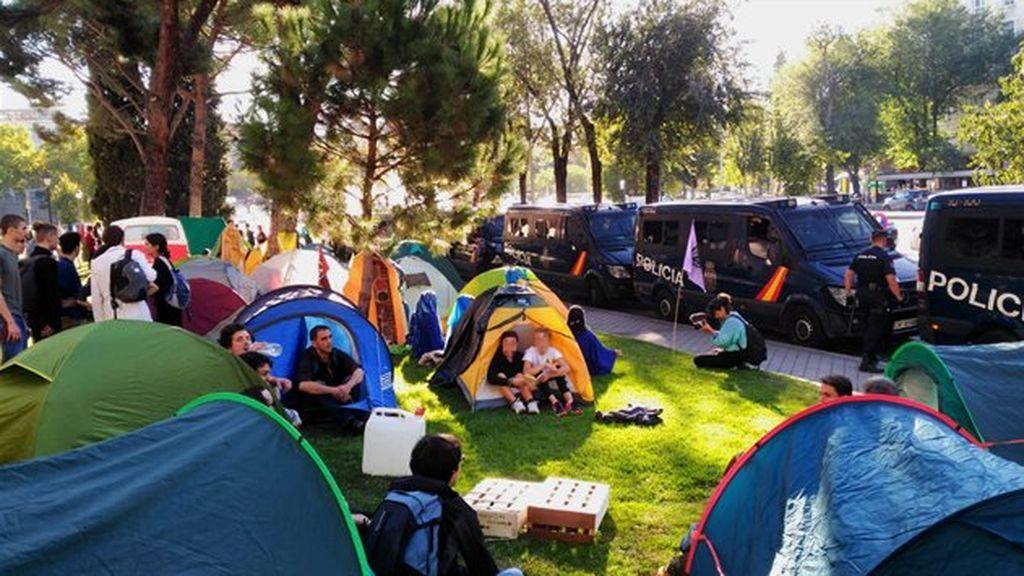 acampada activistas