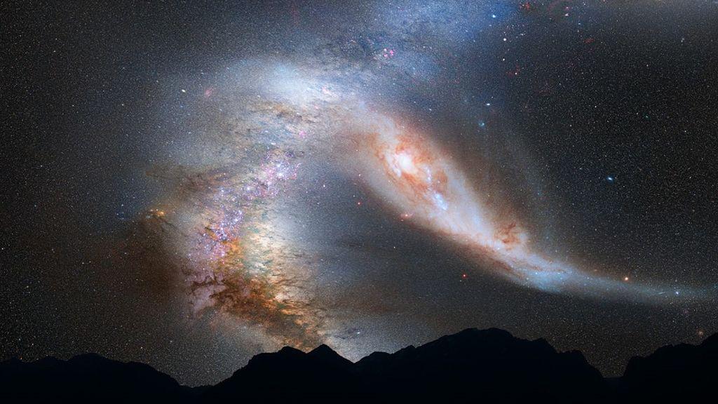 El centro de la Vía Láctea explotó hace sólo 3,5 millones de años, cuando nuestros ancestros ya caminaban por África