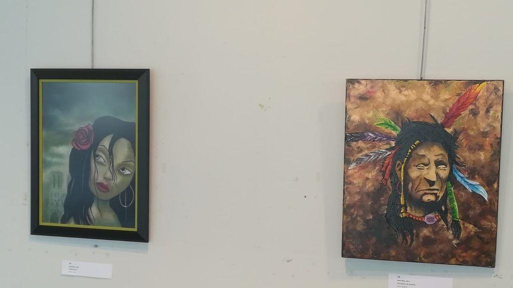 Obras de arte del miembro de ETA Jon Bienzobas
