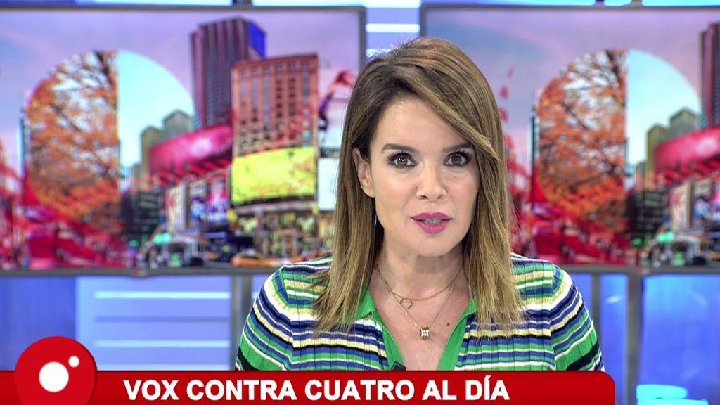 "Carme Chaparro contesta al ""No moleste, progre"" de VOX"
