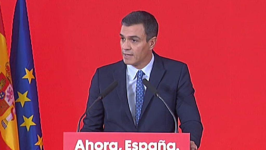 Pedro Sánchez anuncia una subida actualización de las pensiones conforme al IPC real