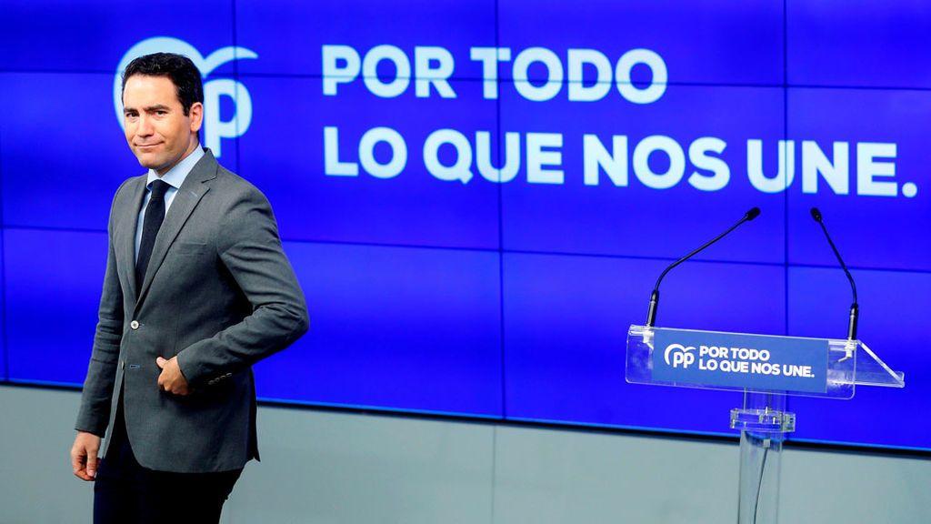 """""""Por todo lo que nos une"""", el lema con el que el PP arranca la campaña"""