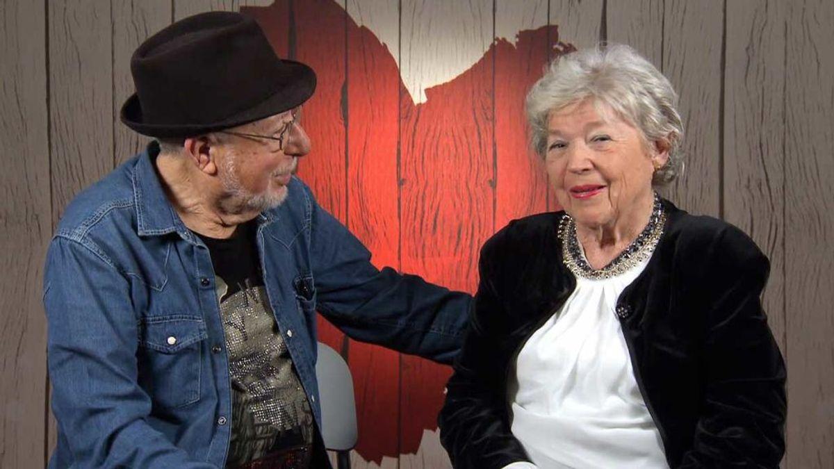Ni la edad ni la distancia pueden con el amor de Betty y Giuseppe