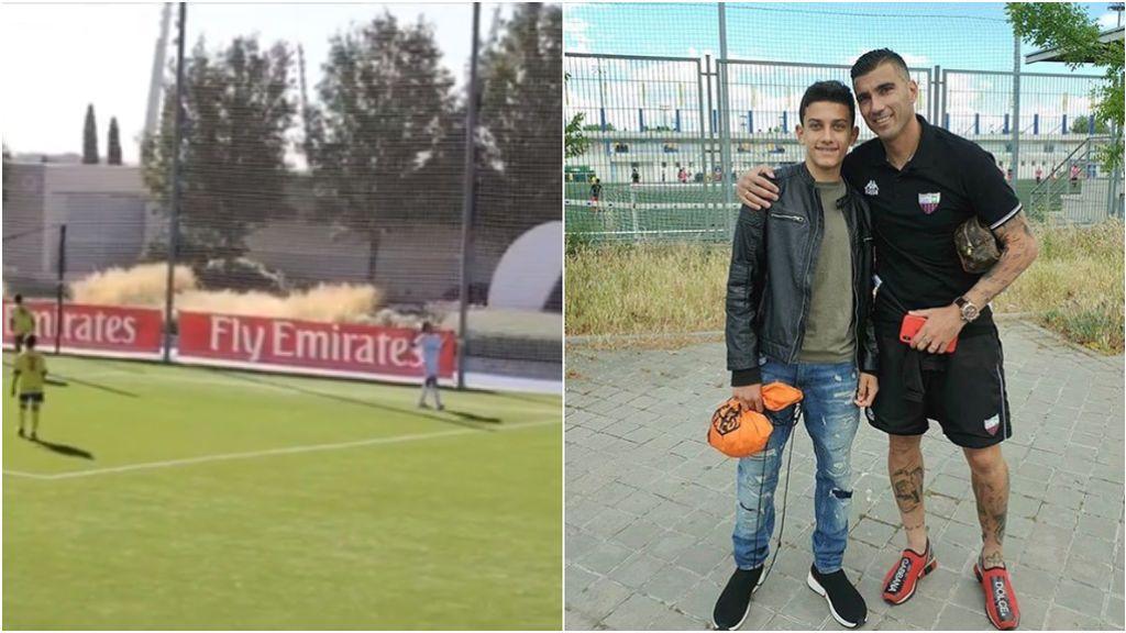 La dedicatoria del hijo de Reyes a su padre tras su primer gol con el Real Madrid