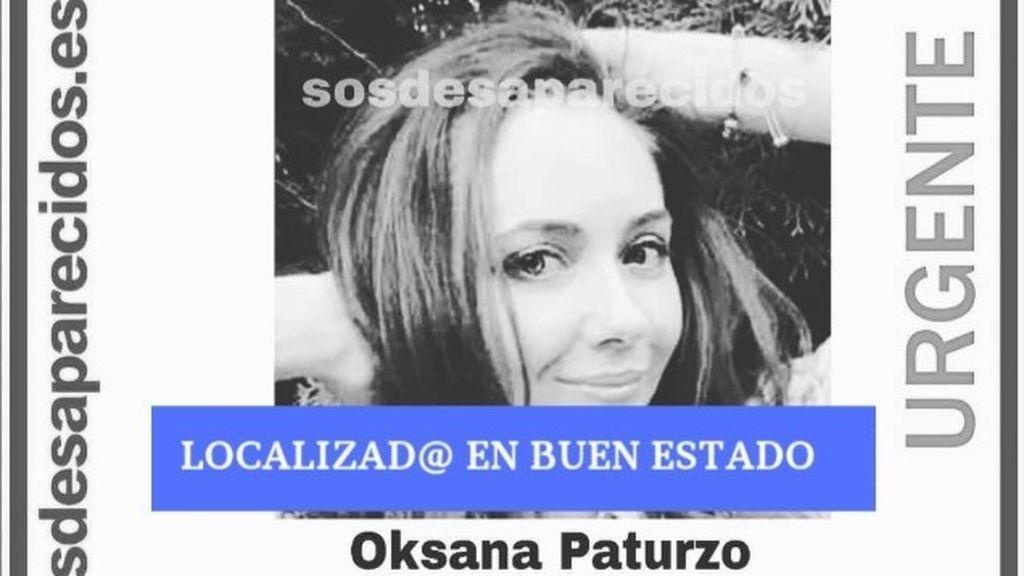 Localizan en buen estado a Oksana Paturzo, la mujer de 34 años desaparecida en Barcelona