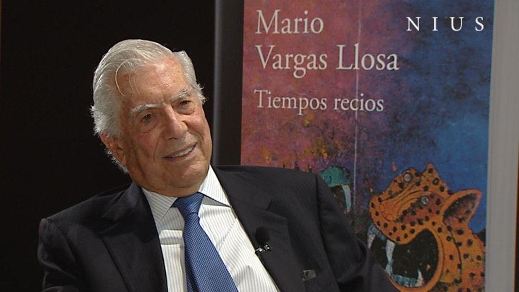 Entrevista a Vargas Llosa