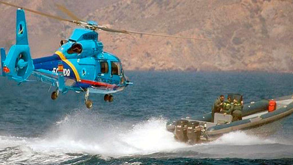 Helicóptero de la Agencia Tributaria