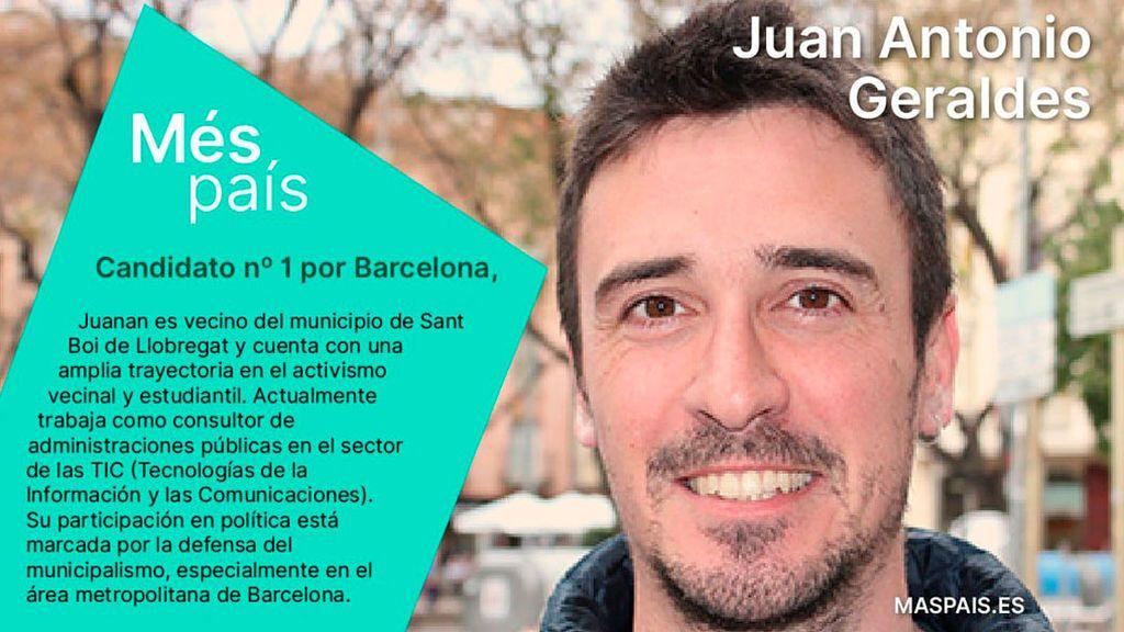 Errejón elige  un activista estudiantil como cabeza de lista en Barcelona