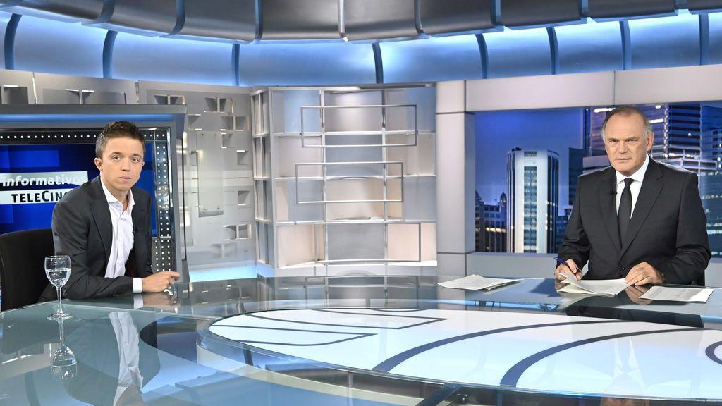 Íñigo Errejón en 'Informativos Telecinco'