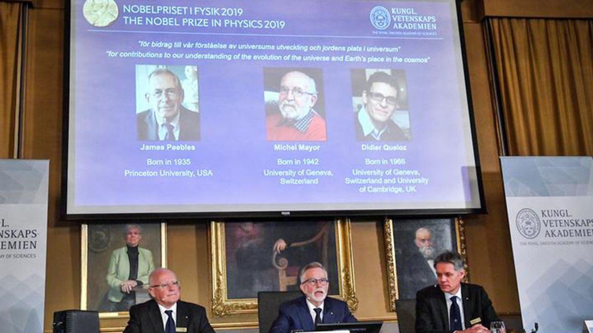 El Premio Nobel de Física 2019 va para los exploradores del cosmos