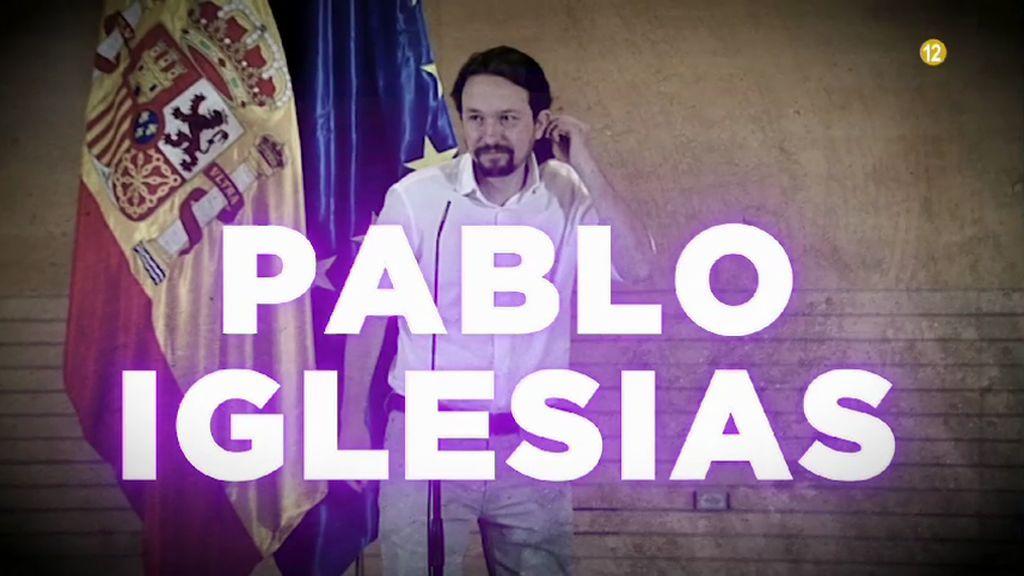 Pablo Iglesias visita 'Todo es mentira'
