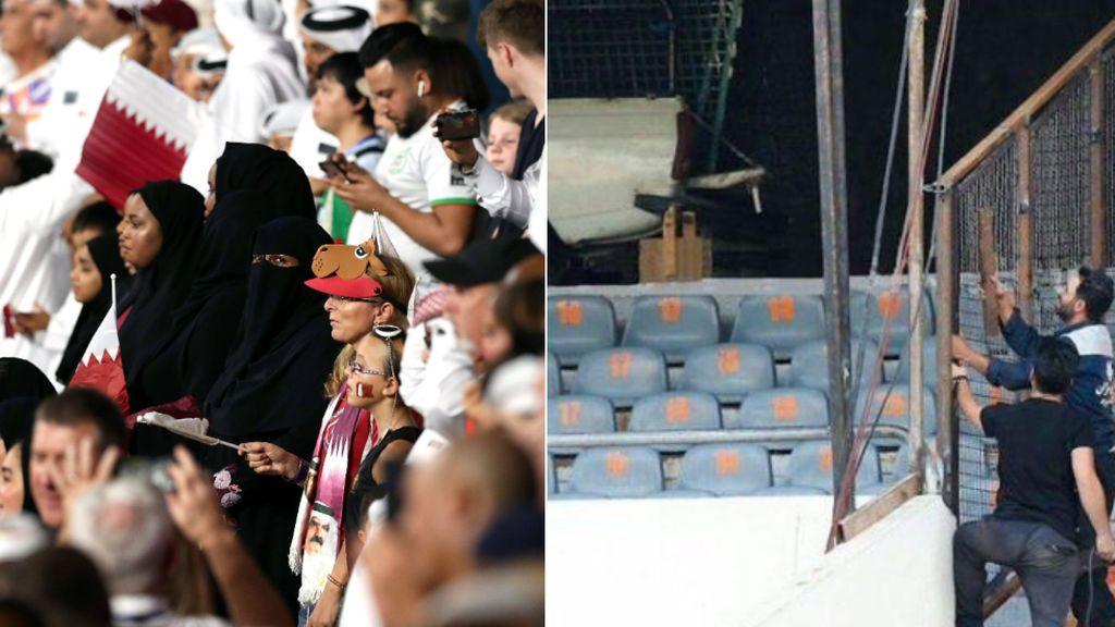 Irán acepta la entrada de mujeres al fútbol pero las enjaula para evitar el contacto con hombres