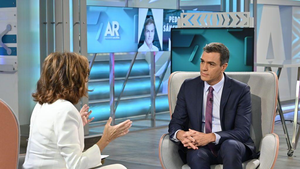 Pedro Sánchez en 'El programa de Ana Rosa'