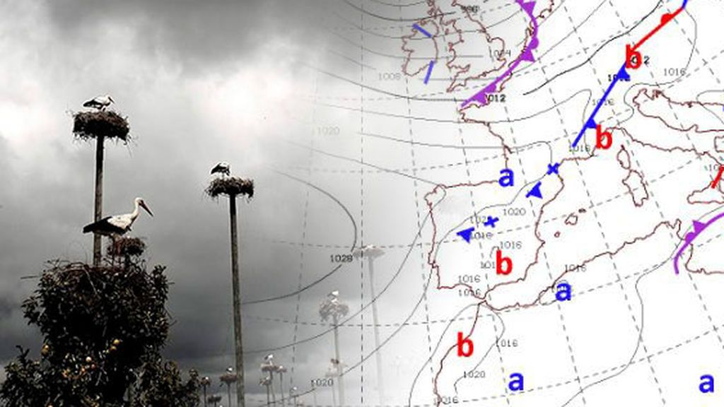 Un frente deja una de las primeras lluvias en el Mediterráneo