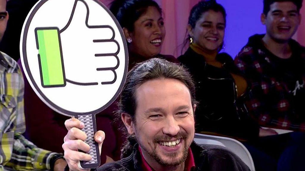 """Pablo Iglesias ante la noticia de que niega la pensión a Carmena: """"Me mola un montón"""""""